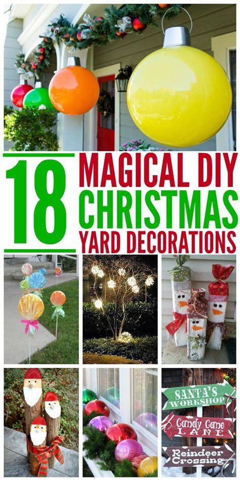 Outdoor Decorations Diy - best 25 yard ideas on