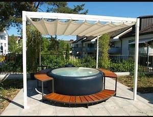 die besten 17 ideen zu pool becken auf pinterest With französischer balkon mit yakuzi pool garten