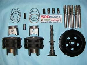 Fiat 500 F  L  R 126 Kit Elaborazione Motore Sport 700 Pistoni Camma Canne Ventola