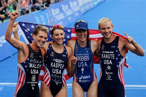 united states power mixed team relay world championships title