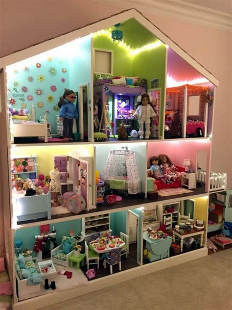 realistic dollhouse installations   virtual experience