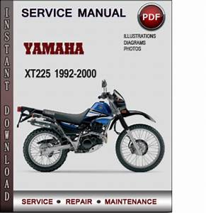 Yamaha Xt225 1992