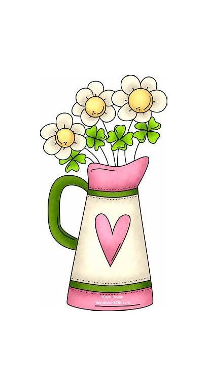 Clip Spring Flowers St Clipart Happy Flower