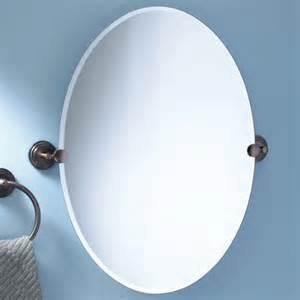tilting bathroom mirror bronze oval mounting mirror signaturehardware