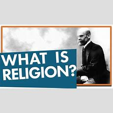 What Is Religion?  Youtube