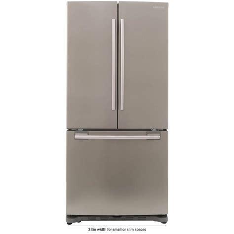 Samsung 33 in W 175 cu ft French Door Refrigerator in