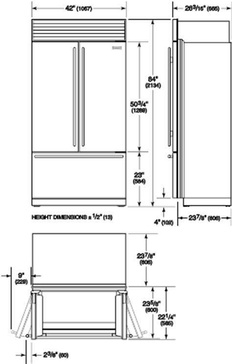 BI 42UFDID/O   Specification & Manuals   Sub Zero Appliances