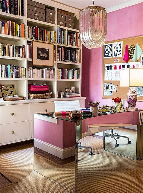 30 Delightful Feminine Home Office Furniture Ideas - DigsDigs