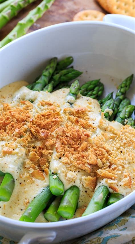 asparagus casserole  ritz crackers