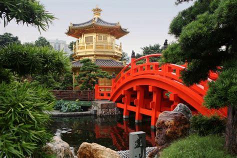 rote bäume garten chinesischer garten typische merkmale und inspirationen