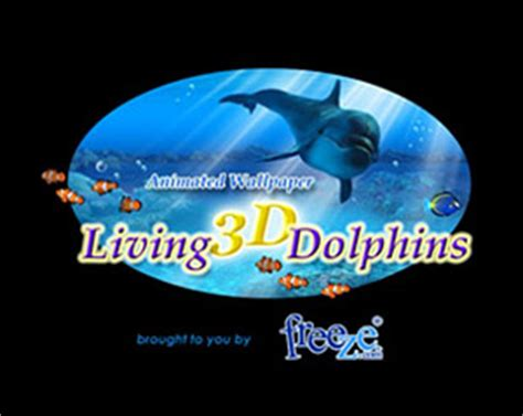 Living 3d Dolphins Animated Wallpaper - free animated dolphin wallpaper desktop