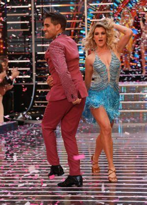 ashley roberts strictly  dancing launch  london
