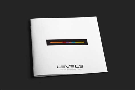 levels simple brochure design