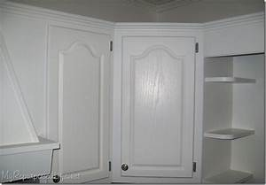 How to paint oak cabinets - My Repurposed Life®
