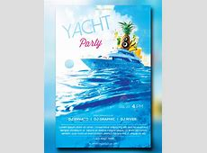 Yacht Party Flyer wwwpixsharkcom Images Galleries