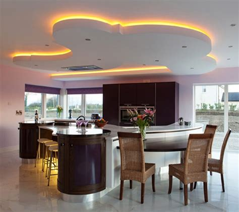 pictures of kitchen lighting ideas unique led lighting for modern kitchen decorating ideas