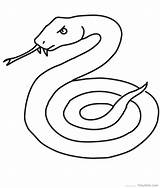 Snake Coloring Printable Serpent Coloriage Mamba Cobra Snakes Garter Dessiner Outline Realistic Drawing Sea Clipart Dessin Thedrawbot Reptile Animal Jungle sketch template