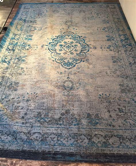 teppich vintage türkis orientteppich muster gef 228 rbt gewebt blau grau