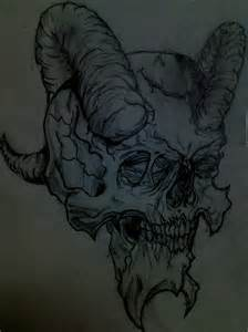 Demon Skull Sketches