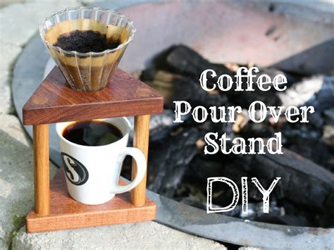coffee pour  stand diy