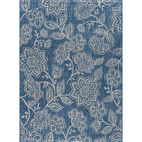 indigo area rug tayse rugs veranda indigo 7 ft 10 in x 10 ft 3 in