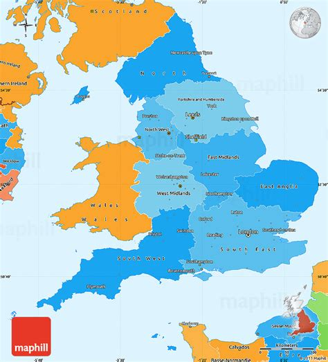 maps england  travel information   maps