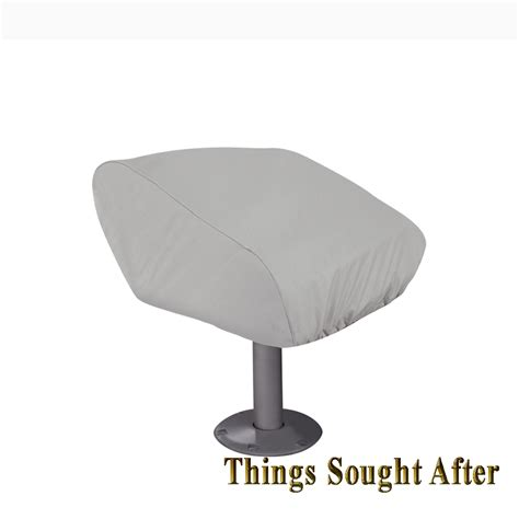 Seat Pedestal For Bass Boat by Cover For Folding Pedestal Boat Seat Fishing Runabout Bass