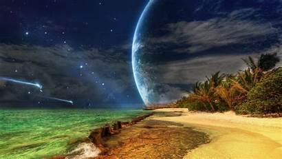 Tropical Island Sunset Wallpapers Laptop 1080 Spaceships