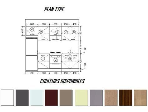 mesures cuisine cuisine meuble samoa cuisine modele standard ou sur