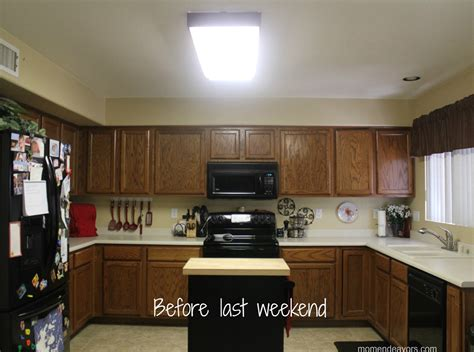 mini kitchen remodel lighting makes a of