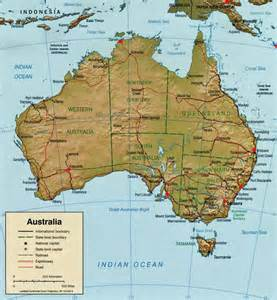 Sunshine Coast Australia Map
