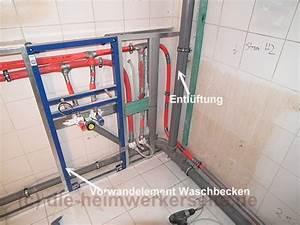 Abfluss Dusche Montieren : badsanierung bad selbst renovieren die ~ Michelbontemps.com Haus und Dekorationen