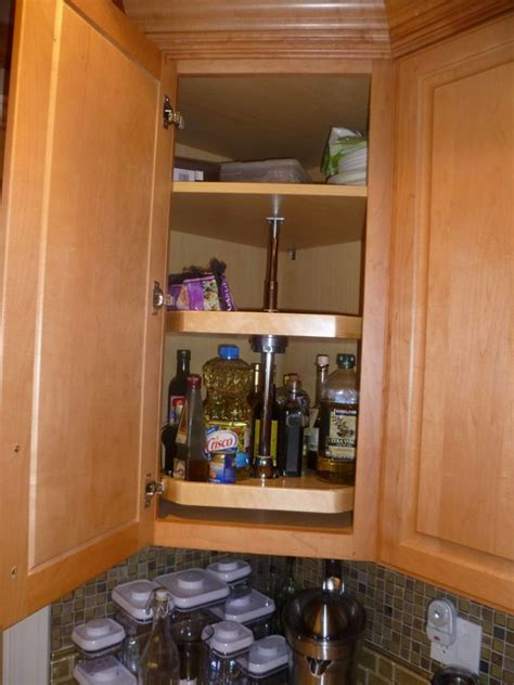 Corner Kitchen Cabinet Organization Ideas by Lazy Susan Corner Cabinet Organizer Traditional