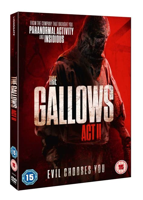gallows act ii dvd details revealed release date set