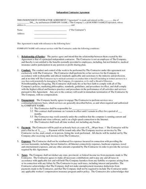 independent contractor contract  brittanygibbons