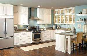 kitchen inspiration With best brand of paint for kitchen cabinets with glass bowl wall art