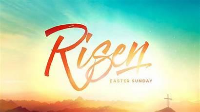 Easter Sunday Church Risen Powerpoint Resurrection Backgrounds