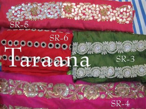 handembroidered saree borders  sale mail