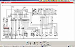 Wiring Schematic For The Speedo Cluster Of A Citroen C5