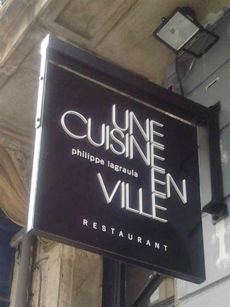 restaurant une cuisine en ville bordeaux une cuisine en ville un nouveau restaurant à bordeaux