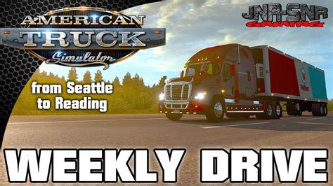 freightliner cascadia ats american truck simulator seattle to reading