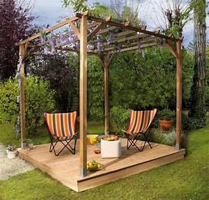 charmant comment construire une terrasse couverte 8 With comment construire une terrasse couverte