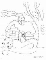 Coloring Cabin Pages Log Instructions Quilt Colorings Printable Cabins Getcolorings Getdrawings Pattern Print sketch template