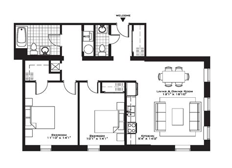 Apartment Floor Plans Photo Gallery by 15 2 Bedroom Apartment Building Floor Plans Hobbylobbys Info