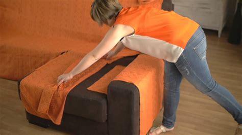 comment recouvrir un canapé housse pour canapé d 39 angle accoudoirs indépendants