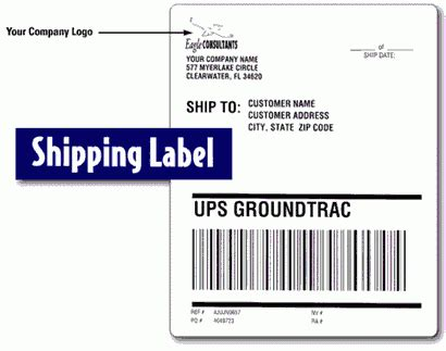 shipping label template word top 4 layouts of shipping label templates word templates excel templates