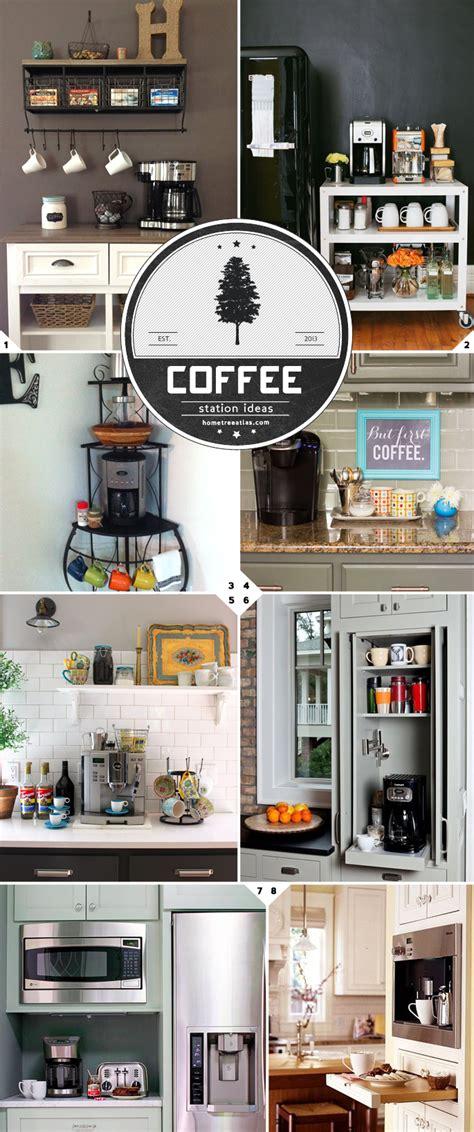 home barista kitchen coffee station ideas  designs home tree atlas