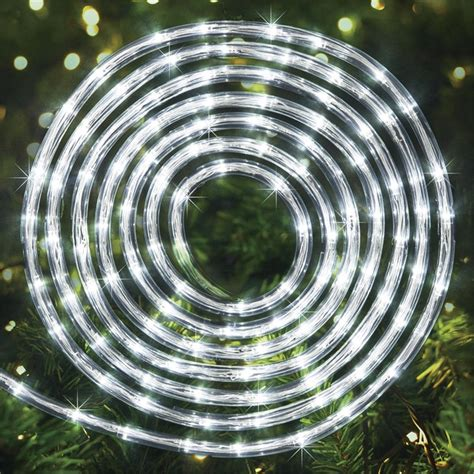 arlec 30m white led solar rope light bunnings warehouse