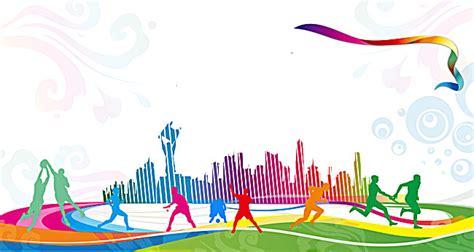 Sports Background Designs by Sports Carnival Celebration Gradient Background Sports
