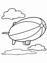 Air Coloring Pages Balloons Balloon Printable Print sketch template